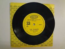 """ZOMBIES:Time Of The Season-Friends Of Mine-Brasil 7"""" 69 Epic 66029 First Edition"""