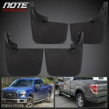 For 2004-2015 Ford F-150 w/o Fender Flares New Mud Flaps Molded Splash Guards