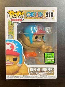 Funko POP One Piece Buffed Chopper #918 ECCC Exclusive IN HAND