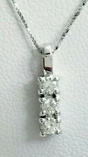 Collier Gargantilla trilogy oro blanco 18 ct y diamantes naturales 0,15 Oferta