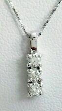 Collier Girocollo  trilogy oro bianco 18 kt e diamanti naturali 0,15 ct Offerta