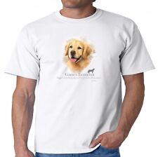 Golden Retriever T-Shirt Puppy Pet Rescue Dog Owner Men's Tee