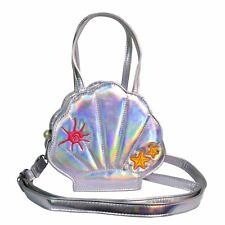 Dancing Days Ariel Mermaid Pearlescent Clam Bag