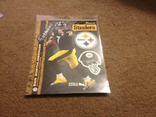 NEW - 2013 BEN ROETHLISBERGER MINI FATHEAD W/ PITTSBURGH STEELERS HELMET & LOGO