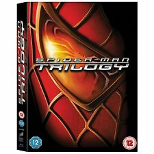 BRAND NEW! Spider-Man Trilogy (Blu-ray Disc, 2012, 3-Disc Set)