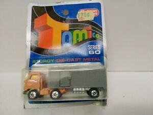 "TOMICA no24 HINO SEMI TRAILER  "" on Blue card MADE FOR G.J COLES   in AUSTRALIA"