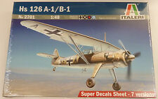 Italeri 1/48 Henschel HS 123 A-1/B-1 Model Kit 2701