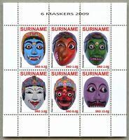 Surinam 2009 Masken Masks Maskers 2355-2360 Postfrisch MNH