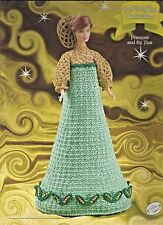 Princess and the Pea FAIRY TALE Collection Annie's Fashion Doll Crochet Pattern