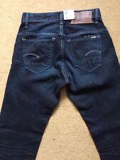 """G-Star Raw 3301 Men's Blue Jeans slim, W29"""", L32"""", 75% RRP £ 150"""