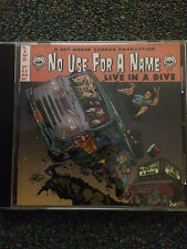 No Use For A Name - Live In A Dive. 2001. Enhanced. Fat Wreck. Punk. NOFX