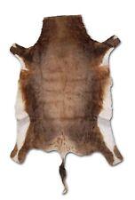 African Blesbok Real Fur Hide Rug - 5.5' x 3.5' - New