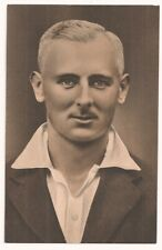 1936 Original Photogravure Cricket Postcard Hedley Verity  Yorkshire very good