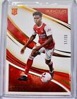 2020 Immaculate Soccer Bukayo Saka RC Rookie Bronze 37/50 #77 SP Arsenal