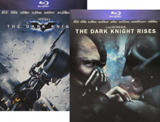 THE DARK KNIGHT + THE DARK KNIGHT RISES (4 BLU-RAY) LIMITED STEELBOOK EDITION