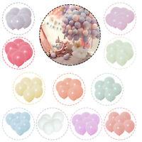 100pcs Macaron Bonbon Coloré Ballons Pastel Latex Ballons 25.4cm Fête Décoration