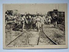 PRIGIONIERI a POLA ISTRIA Nazario Sauro AK vecchia cartolina