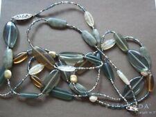 SILPADA N2225 Sterling Silver Labradorite Glass,Brass Necklace Was $129