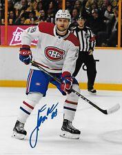 Autographed Montreal Canadiens Jakub Jerabek 8x10 Photo #2