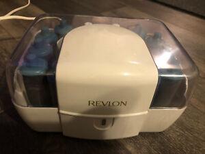 Revlon Ultra Setter RV-255 Hot Rollers Flocked Curlers  20 Super Jumbo