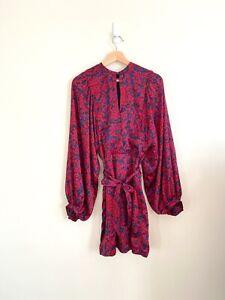 Kookai Chenoa Long Sleeve Dress Size 40 / 10 12