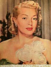 Lana Turner, Full Page Vintage Pinup