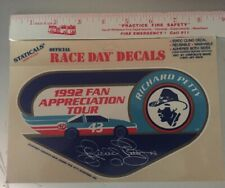 RICHARD PETTY 1992 Fan Appreciation Tour 43 NASCAR CHAMPION Decal Sticker