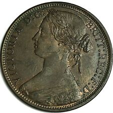 More details for 1866 penny ef+ collectable grade ref:e99