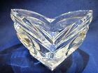 Mikasa Crystal Votive Candle Holder, Germany. Art Deco Style Clear