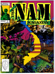 THE 'NAM Magazine #1 in VF/NM condition a Marvel 1988 war comics 1st print