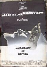 """L'ASSASSINAT DE TROTSKY {ALAIN DELON} 24""""x33"""" French Movie Original Poster 70s"""