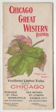 Chicago Great Western Railway : Maple Leaf Route. Travel Brochure. Chicago, 1896