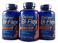 3 Pack Osteo Bi-Flex Triple Strength Glucosamine 1500 Chondroitin MSM Joint Care