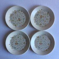 """Vintage Lenox Temper-Ware Merriment 6.25"""" Bread Plates Set of 4 Lot A"""