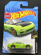 2018 Hot wheels '95 Mazda RX-7 Case F 141/365 Green