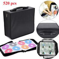 Classeur Rangement Boite Pochette Range 520PCS CD DVD Sac Sacoche Plastique