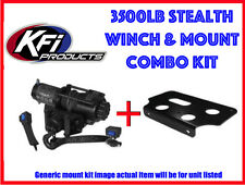 "New KFI 3500lb Stealth Winch & Mount Kubota RTV1140 2009-17 2"" front receiver"