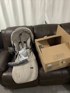 Peg Perego , Seggiolino Pop Up - Luxe Beige , Chair , Canopy And FootMuff Only