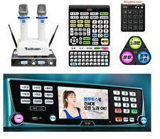 TJ Taijin Media B1 1TB HDD Korean Karaoke Machine + Wireless Mic + Rhythm + Club