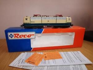 Ab23: RoCo HO Gauge 43693 DB Cream & Blue SAAR Diesel Loco Exc/Boxed