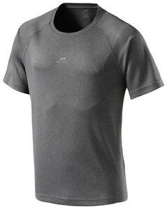 Pro Touch Martin II Grau Graphit Melange Fitness Shirt Laufshirt Running Shirt