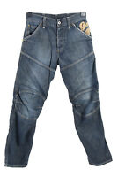 Vintage G-Star Raw Loose High Waist Unisex Denim Jeans W29 L31 Mid Blue - J4850