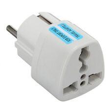New 10A Universal Us/Uk/Au to Eu Ac Power Plug Travel Wall Adapter Converter