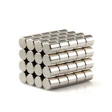 100pcs 5 X 5mm Neodymium Disc Super Strong Rare Earth N35 Small Fridge Magnets
