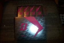 2 dozen BRAND NEW Bridgestone Extra Soft Lady Pink golf balls 2018