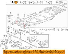GM OEM Frame-Mount Cushion 22825456