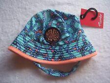 BNWT Toddler Girl's Mambo Butterflies Summer Bucket Hat OSFA