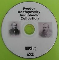 Fyodor Dostoyevsky MP3 DVD Audio Book Collection Inc Crime And Punishment