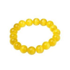 2021 NEW Style Yellow Jasper Body Cleansing Bracele tHOT Y9Z0