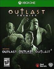 Xbox One 1 Outlast Trinity I & II & Whistleblower NEW Sealed REGION FREE USA